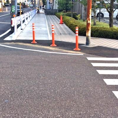 蓋かけ歩道改修工事完了4