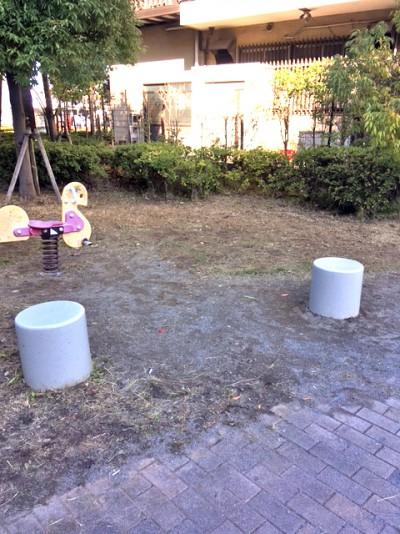 鬼高4丁目桂の木公園1