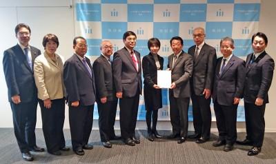 佐藤副市長に平成30年度の予算要望3