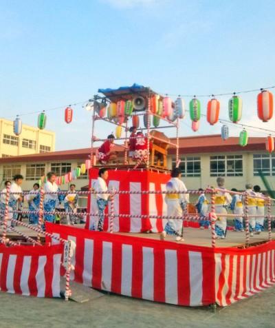 鬼高自治会納涼盆踊り大会2