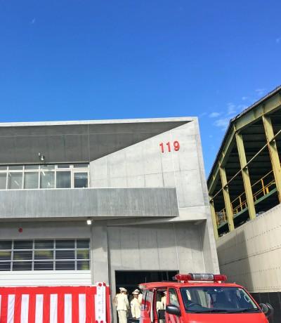 市川市東消防署高谷出張所開所式3