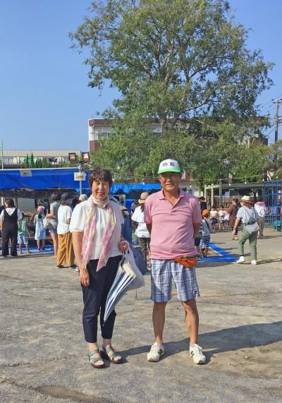 下新宿自治会の夏祭り3