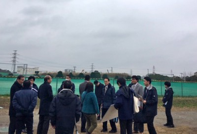 行徳臨海特別委員会の視察2