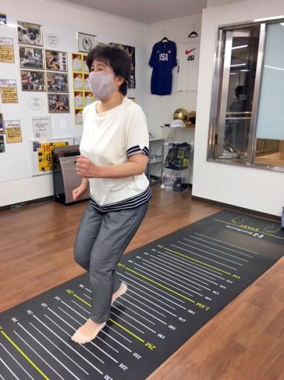 プロジェクト主催の身体測定会2