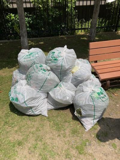 毎月第2日曜日地域の日公園清掃3