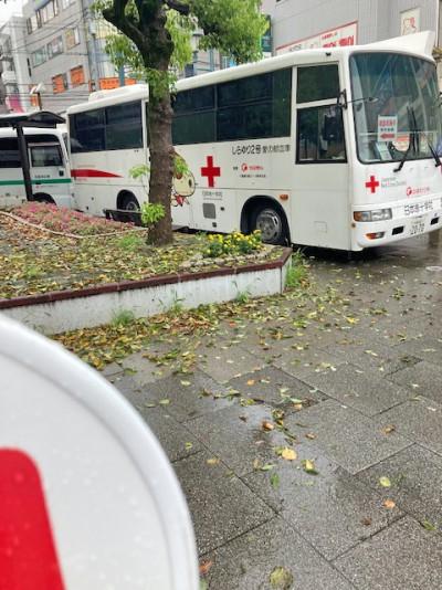 赤十字社の献血3